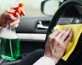 waterless car cleaning